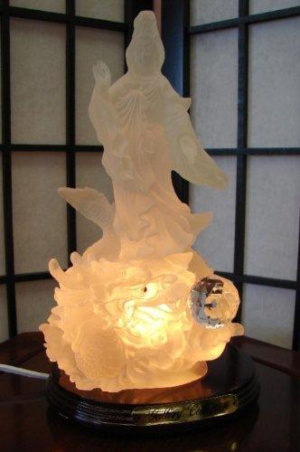 White Standing Kuan Yin Statue
