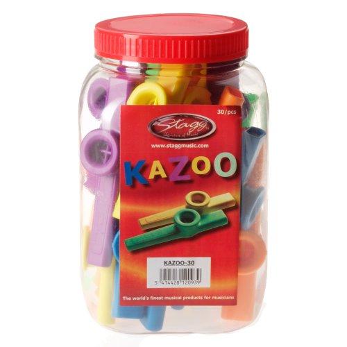 Stagg 12100 Kazoo-Pfeifen bunt