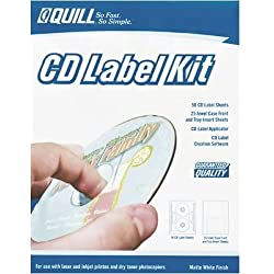 Quill Brand CD Label Starter Kit