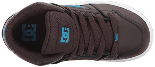 DC Shoes Youth Rebound Skate Shoe, Brown, 1.5 M US Little Kid by DC (Image #8)