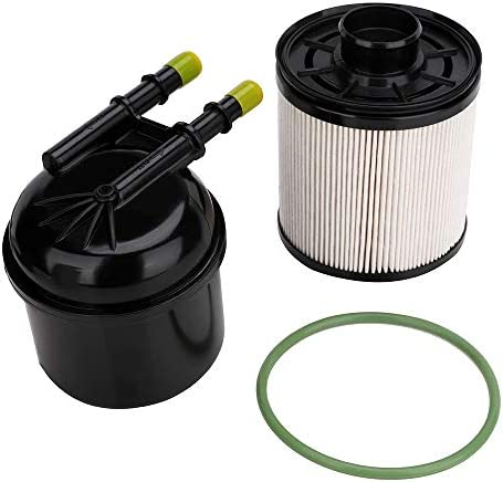 fd-4615 5 micron fuel water separator filter for 2011 2012 2013 2014 2015  2016 ford f250 f350 f450 f550 hd ford super duty truck pickup 6.7  powerstroke diesel fuel filter - replaces fd4615, bc3z9n184b: automotive -  amazon.com  amazon.com