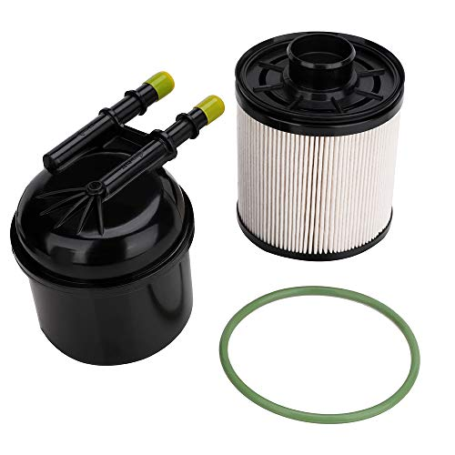 FD-4615 Fuel Filter - Replace # For 2011-2016 Ford F-250, F-350, F-450, F-550 Super Duty 6.7L V8 Diesel Powerstroke Engine Replace # FD-4615, FD4615, BC3Z-9N184-B, BC3Z9N184B - Diesel Fuel Filter Kit (2011 Ford Super Duty Diesel For Sale)
