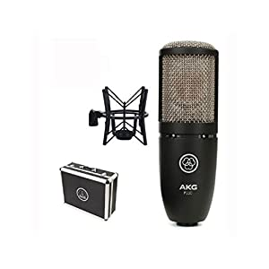 AKG P220 + Boom Stand + Cable