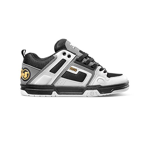 Scarpe DVS MOD.Comanche White Charcoal Leather Skate Hip hop-38.5