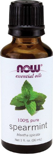 NOW Spearmint Oil, 1-Ounce (Pack Of 2)