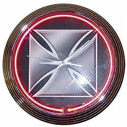 Edge Marketing 251001 Neon Clock Iron Cross