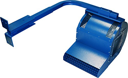 Patterson Fans FHVTCA-WB HV Truck Cooler fan with wall bracket, Blue by Patterson Fan