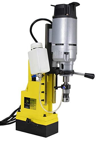 Steel Dragon Tools Magnetic Drill Press with 1-3 4 inch Boring Diameter 2700 LBS Magnetic Force