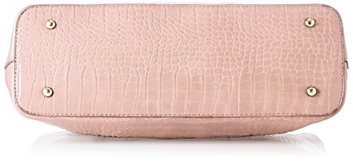 Audrey Cabas Tote Rose Leather Bag Swankyswans Pink Faux Wallet UFqwgg