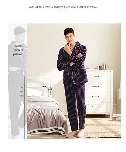 Vestito Servizio In Indossato Flanella E Corallo Ispessimento Pile 190cm Può Autunno 190cm Pigiama Più 95kg Pajamasx Velluto Di 85 Xxxl180 Domestico Maschile Xxxl180 95kg Essere Inverno Fuori 85 OqaUIx7