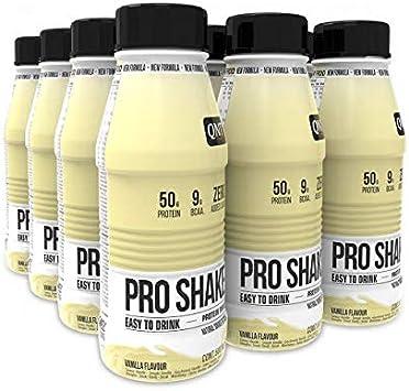 Qnt pro shake, batido de 50gr. de proteína, 500ml: Amazon.es ...