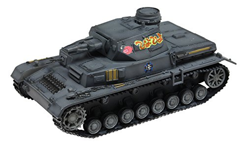 Girls und Panzer - 1/72 Tenohira Tank Warfare Collection Panzer IV Ausf. D Battle Against Anzio PiyoPiyo Marking