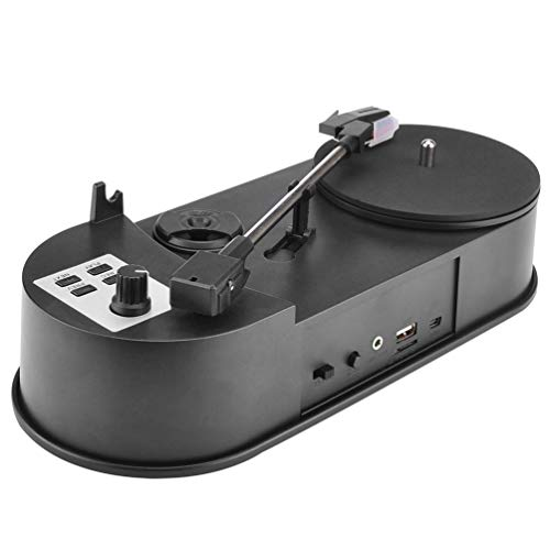 - Sweepingy USB Mini Vinyl Turntable Audio Player Vinyl Turntable to MP3/WaV/CD Converter Black