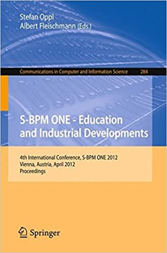 S-BPM ONE - Education and Industrial Developments: 4th