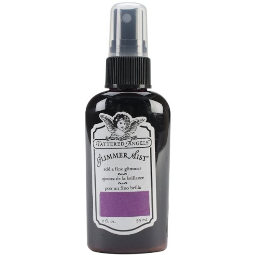 Tattered Angels GLM-21427 Glimmer Mist, 2-Ounce, - Spray Glitter Angels Tattered