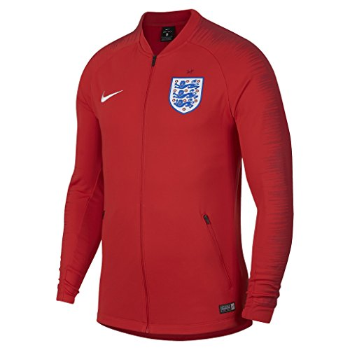 Soccer Jacket England (NIKE Mens ENT M NK ANTHM FB JKT 893588-603_XL - Challenge RED/Gym RED/White)