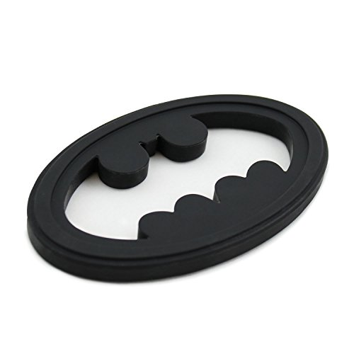Bumkins DC Comics Batman Silicone Teether, Textured, Soft, Flexible, Bacteria Resistant]()