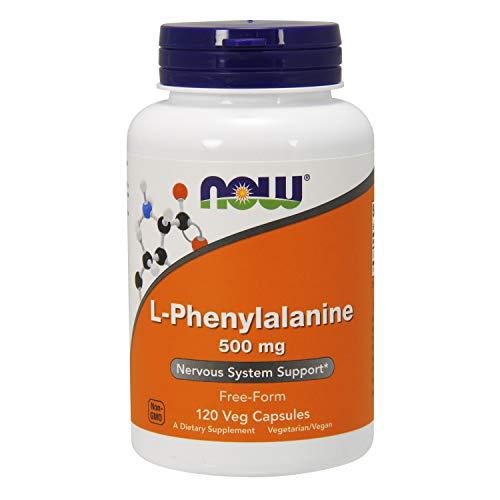 : NOW Supplements, L-Phenylalanine 500 mg, Amino Acid, 120 Veg Capsules