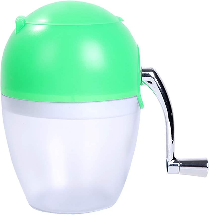 ice shaver Ice Shaver, Premium Manual Hand Crank Operated Ice Breaker Ice Crusher Maker Snow Cone Machine With Stainless Steel Blades For Frozen Drinks Smoothie