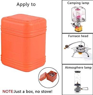 Caja de Almacenamiento de la Estufa de Camping Ohhome Caja de Embalaje Exterior con Tapa Caja de Horno Accesorios de la Estufa Almacenamiento: Amazon.es: Deportes y aire libre