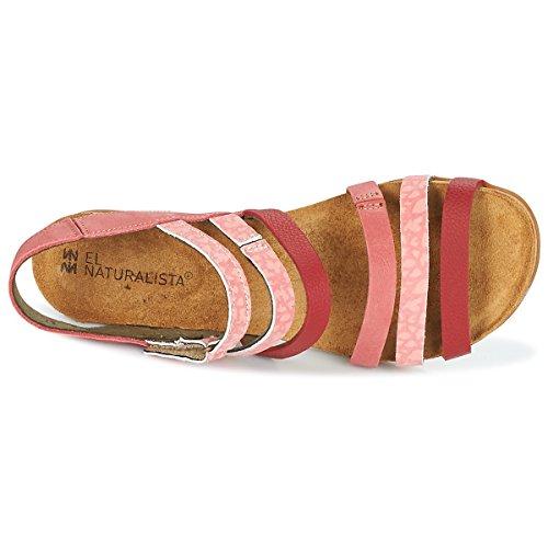 El Naturalista Soft Elasticizzato mola Donna Grain Sandali Rosa Mixed Sandalo N5030 O4Sqp4U