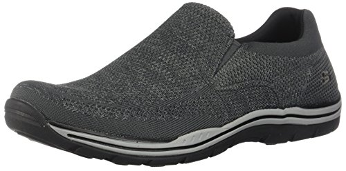 Skechers Gray Gomel on Expected Men's Loafer Slip SSnq784
