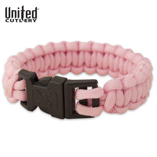 Elite Forces Paracord Bracelet Pink Small, Outdoor Stuffs