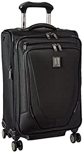 Amazon Com Travelpro Crew 11 21 Quot Expandable Spinner Carry On Suiter Suitcase Black Carry Ons