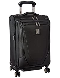 "Travelpro Crew 11 21"" Expandable Spinner Carry On Luggage, Black"