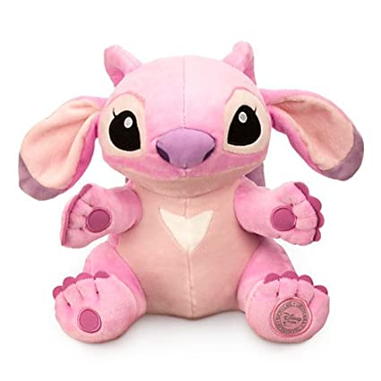 Amazon.com: Disneys Authentic - Lilo and Stitch Girlfriend Angel Stuffed Plush Soft Purple 23cm 9 tall by Disney: Toys & Games