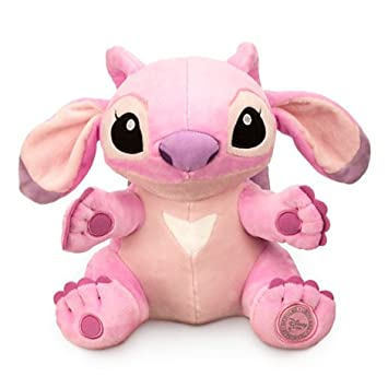 Disneys Authentic - Lilo and Stitch Girlfriend Angel Stuffed Plush Soft Purple 23cm 9 tall by