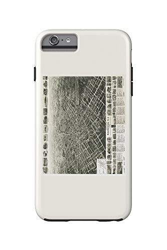 westfield-new-jersey-panoramic-map-iphone-6-plus-cell-phone-case-cell-phone-case-tough