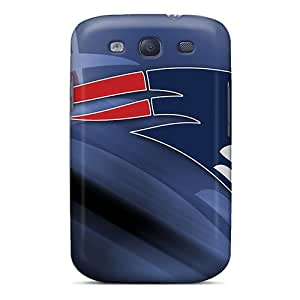 Samsung Galaxy S3 TWu12484LyLV Support Personal Customs Trendy New England Patriots Series Shock Absorption Hard Phone Covers -Marycase88