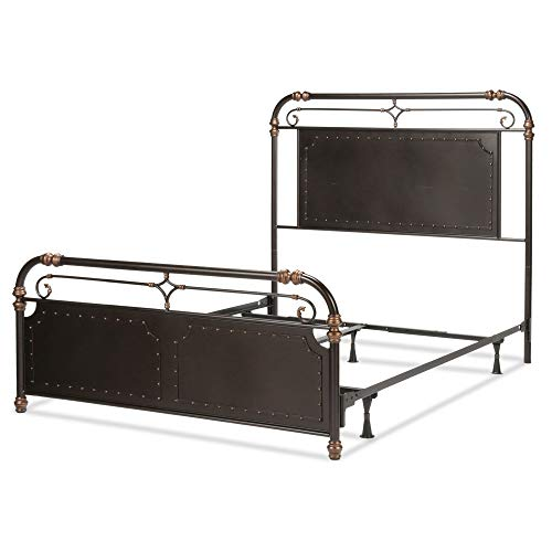 - Fashion Bed Group B11D45 Westchester Complete Metal Bed Queen Blackened Copper