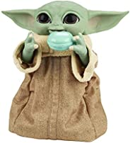 Boneco Star Wars Galactic Snackin' Grogu, Figura de 23 cm, com Sons e Movimentos - F2849 - Hasbro
