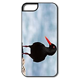 Durable Black Oystercatcher Case For IPhone 5/5s by lolosakes