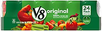 V8 Original 100% 24 Pack of 5.5 oz. Vegetable Juice