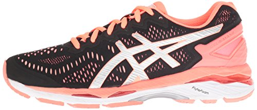 Flash Gel Black Coral 23 Silver Laufschuh 40 nbsp;Damen Gel kayano Kayano Asics 23 damen Fw6q4wC