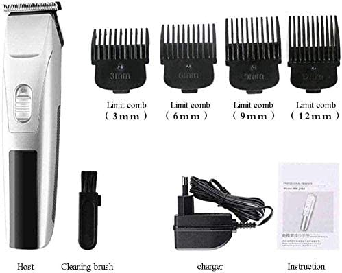Hair Clipper Hair Clipper Professional Electric Hair Clipper Rechargeable Carving Electric Clipper Oil Head Hair Salon Dedicated Hair Trimmer Shaver Haircut Kit Led Display  cJwxa