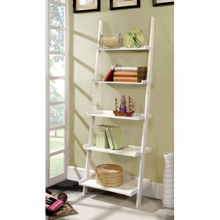 Imogene Ladder Shelf White