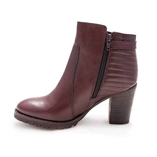 Donne Stivaletti Per Zerimar Woman Donna Ankle Women's Tacco Ankle Donna Di Le Leather Pelle For Boots Stivaletti Primavera Zerimar Boots heeled Ankle A Marrone Mid Donna Spring Stivaletti Da Pelle In Brown Leather Women Stivaletti Metà Boots Boots Ankle Woman YYPqz