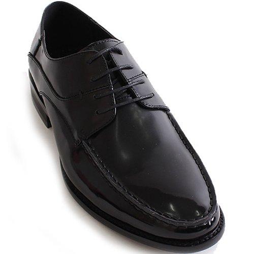 Nya Mooda Snöra På Klassisk Klänning Tillfälliga Mens Läder Formella Skor Svarta