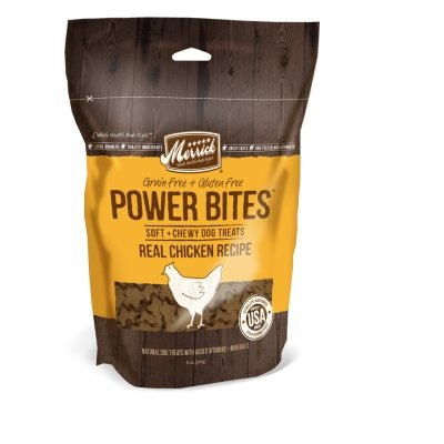 Merrick Pet Treats MP78509 Power Bites - Chicken