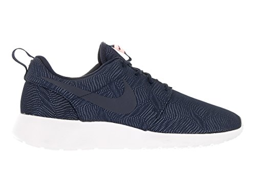 Nike Femmes Roshe Une Moire Chaussure De Course Obsidienne / Blanc-mangue