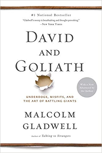 David and Goliath (Underdogs, Misfits, and the Art of Battling Giants):  Gladwell, Malcolm: 4708364221388: Amazon.com: Books