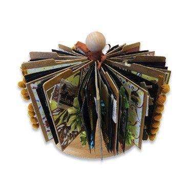 Tabbed Chipboard Album - Zutter Spinner Album Kit