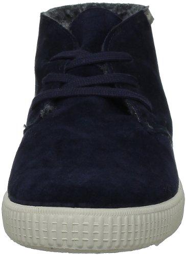 Adulto Marino VictoriaSafari Pantofole Serraje a Stivaletto Unisex Bleu FSA8wX
