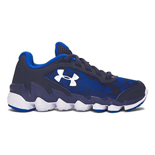 Under Armour Little Boys Preescolar UA Lomo interrumpir Zapatillas de running azul, azul marino (Midnight Navy/Blue)