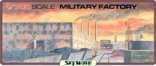 Skywave 1/700 Military Factory Building Model Kit