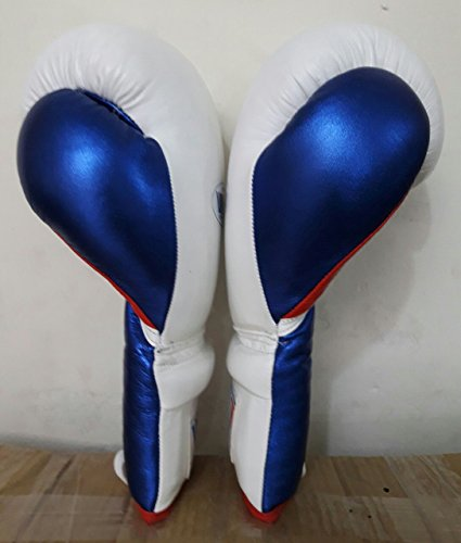 new customized leathr boxing gloves 12/oz winning grant rays mayo thai